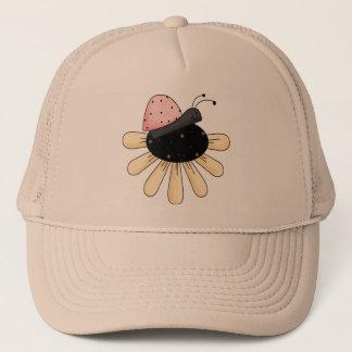 てんとう虫の花 キャップ