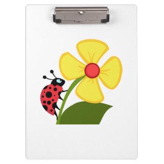 てんとう虫の花 クリップボード