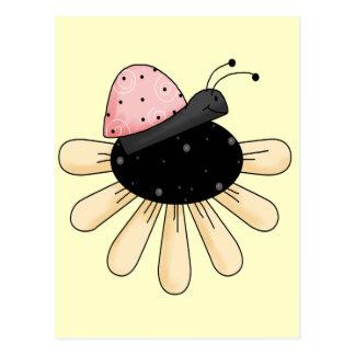 てんとう虫の花 ポストカード