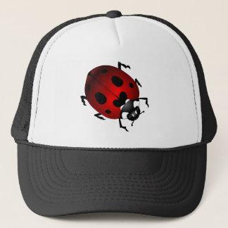 てんとう虫の芸術は帽子のてんとう虫の野性生物の芸術の帽子をおおいます キャップ