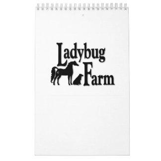 てんとう虫の農場のカレンダー カレンダー