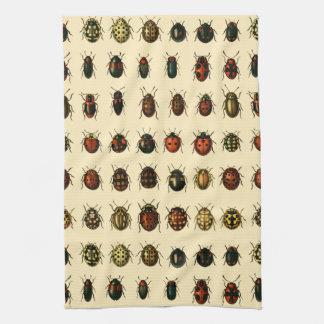 てんとう虫の配列 キッチンタオル