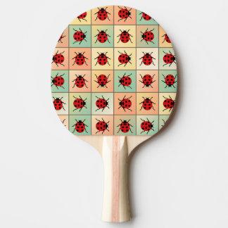 てんとう虫パターン 卓球ラケット
