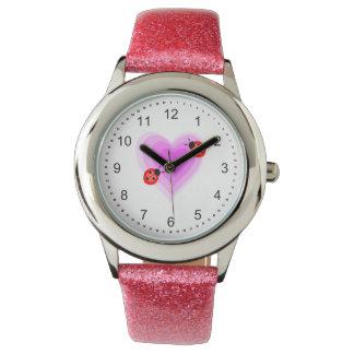 てんとう虫愛 腕時計