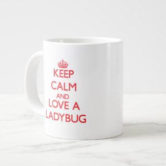 てんとう虫 ジャンボコーヒーマグカップ