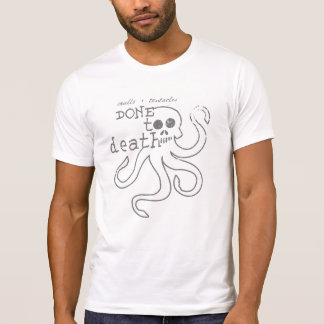 できていた2死 Tシャツ