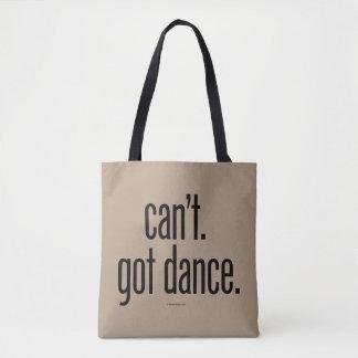 できないで下さい。 得られたダンス トートバッグ