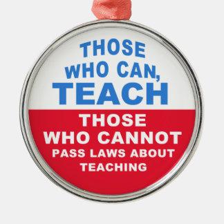 できる人は、教えるために、車/部屋飾ります メタルオーナメント