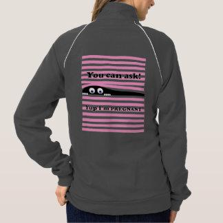です妊娠したピンク私に尋ねることができます ジャケット