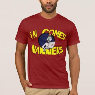 でNanners (SeaNanners)のTシャツを来ます Tシャツ
