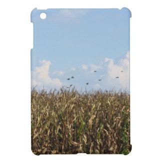 とうもろこし畑およびつばめ iPad MINIカバー