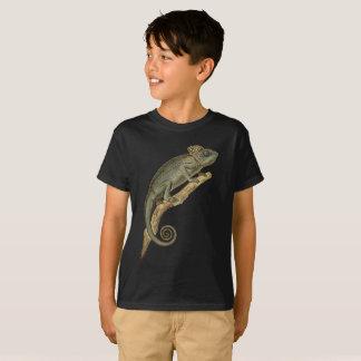 とげだらけのカメレオンの子供のティー Tシャツ