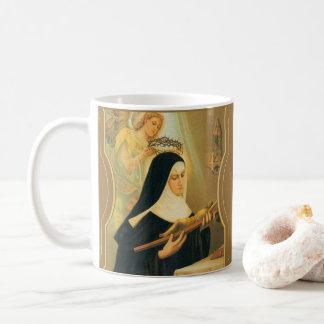 とげの天使のCascia w/CrownのSt.リータ コーヒーマグカップ