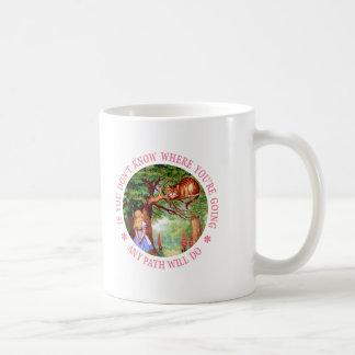 ところであなたは、あらゆる道行きますして下さい コーヒーマグカップ
