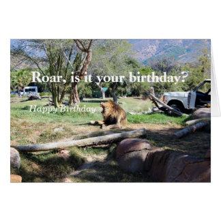 とどろき-それはあなたの誕生日ですか。 ハッピーバースデーカード カード