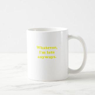 とにかく遅いImものは何でも コーヒーマグカップ