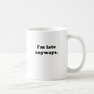 とにかくIm遅い コーヒーマグカップ