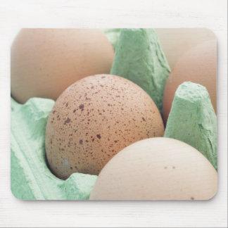 とび色の卵 マウスパッド