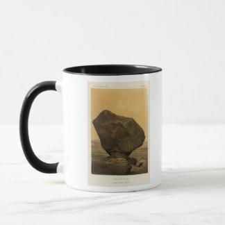 とまられた石、ロッカーの入り江、アリゾナ マグカップ