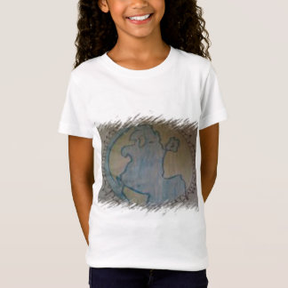 ともに(これ2ハイチはからの私の利益はすべて行きます) Tシャツ