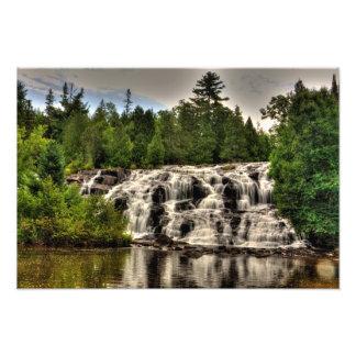 とらわれの滝、ミシガン州 フォトプリント