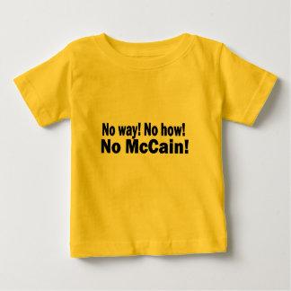 とんでもない! いかに! McCain無し! オバマバイデン氏2008年 ベビーTシャツ