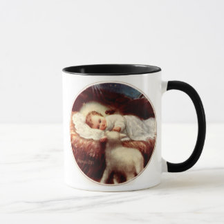 …とVerbumのcaroのfactum米国東部標準時刻、飼い葉桶のイエス・キリスト マグカップ