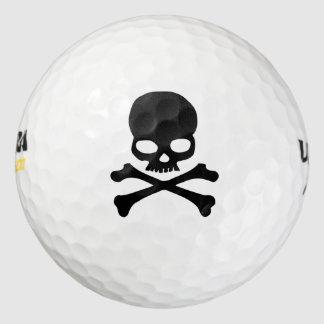 どくろ印のゴルフ・ボール ゴルフボール