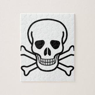 どくろ印の死の記号 ジグソーパズル