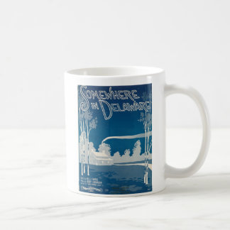 どこかにデラウェア州マグで コーヒーマグカップ