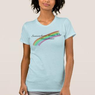 どこかに虹に Tシャツ