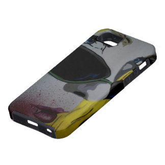 「どこかに2:15 AMで」の吸血鬼のiPhone 5の場合 iPhone SE/5/5s ケース
