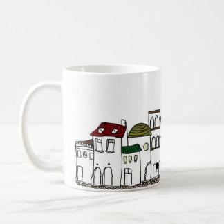 どこかの街並み コーヒーマグカップ