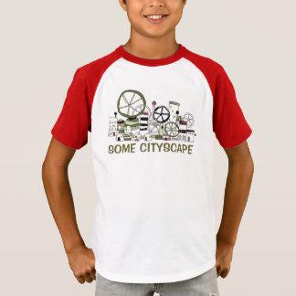 どこかの街並みNo.2 Tシャツ