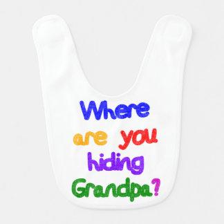 どこから祖父を隠していますか。 ベビービブ