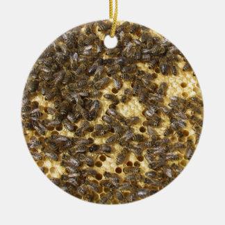 どこでも蜂蜜の蜂 セラミックオーナメント