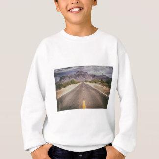 どこもへの道 スウェットシャツ