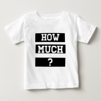 どの位か。 ベビーTシャツ