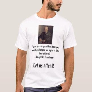 どの位までから破壊しないで…か行くことができるか、Ike Tシャツ