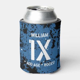 どの10代のなまたはプレティーンの誕生日でも青くグランジなF1XZを揺すります 缶クーラー