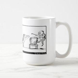 どらのイメージのエドワード・リアの老人 コーヒーマグカップ