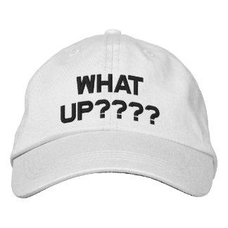 どんな上りのロゴ、調節可能な野球帽か 刺繍入りキャップ