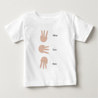 どんな人手の印か ベビーTシャツ