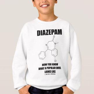 どんな人気があるな薬剤のように見えるかジアゼパム今知っています スウェットシャツ