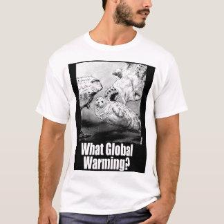 どんな地球温暖化か。 1 Tシャツ