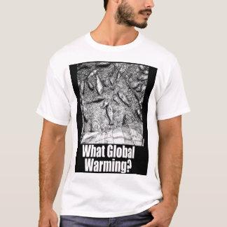 どんな地球温暖化か。 3 Tシャツ