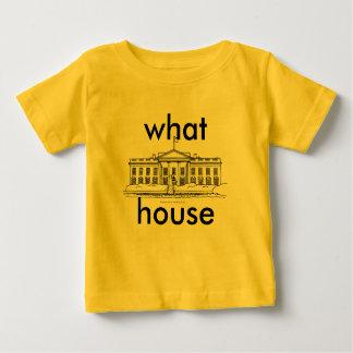 どんな家か。 概念 ベビーTシャツ