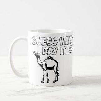 どんな日それがであるか推測か。 こぶ日のラクダ コーヒーマグカップ