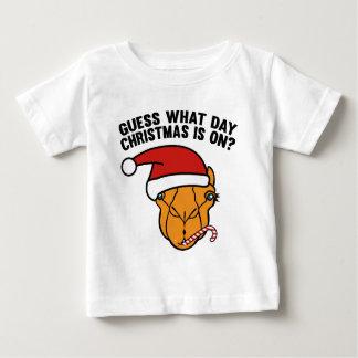 どんな日のクリスマスがついているか推測か。 Ohええ! ベビーTシャツ