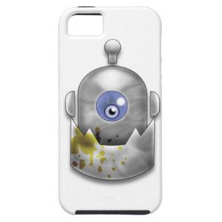 どん欲なロボットロゴ iPhone SE/5/5s ケース
